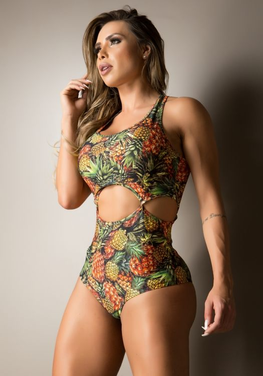 Body Fitness Open Side Estampado