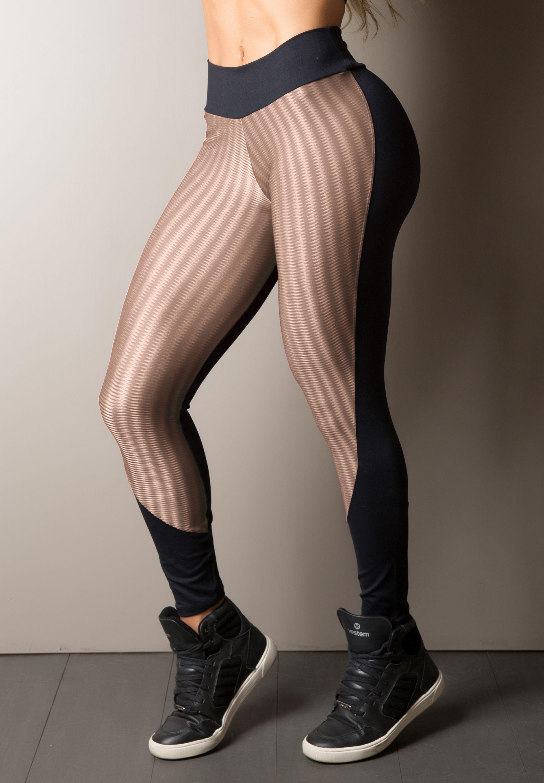 1386f791c78d1 Calça Legging Recorte New Zig