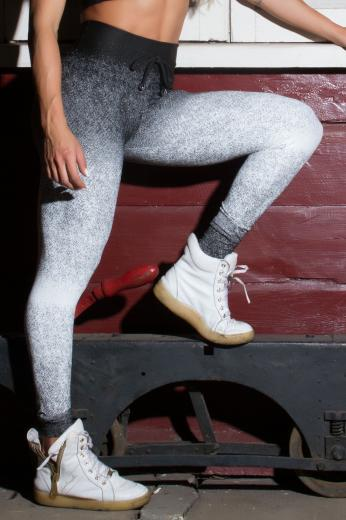 Calça Legging Jacquard Evolution