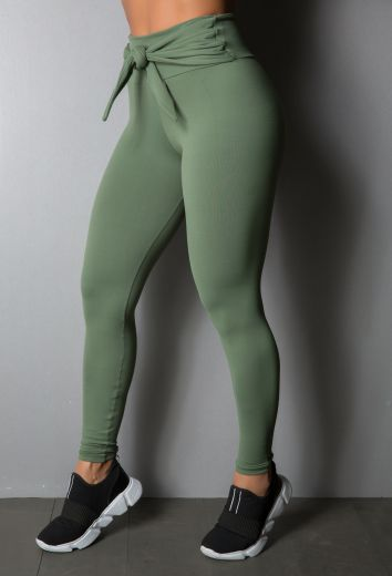 Calça Legging Tie Green Military