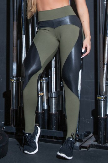 Calça Legging Power Green
