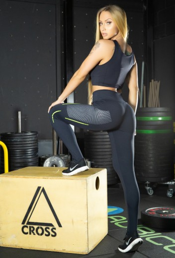 Calça Legging Grl Power Black