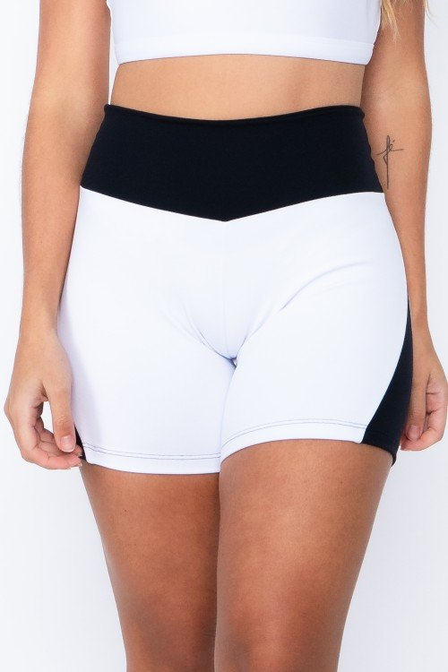 Short Fitness Apple White